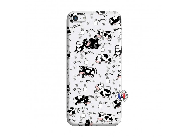 Coque iPhone 5C Cow Pattern
