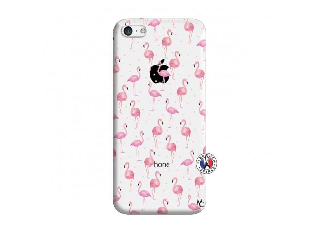 Coque iPhone 5C Flamingo