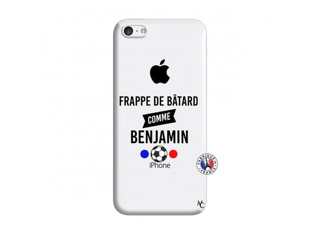 Coque iPhone 5C Frappe De Batard Comme Benjamin