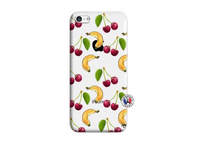 Coque iPhone 5C Hey Cherry, j'ai la Banane