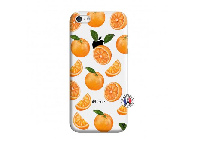 Coque iPhone 5C Orange Gina