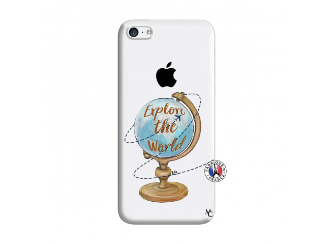 Coque iPhone 5C Globe Trotter