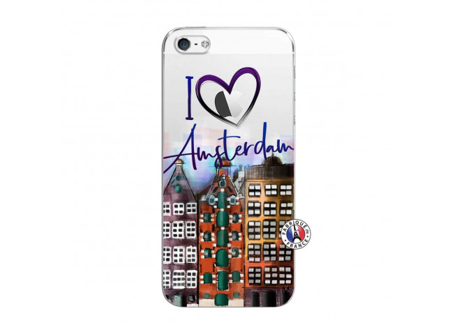 Coque iPhone 5C I Love Amsterdam