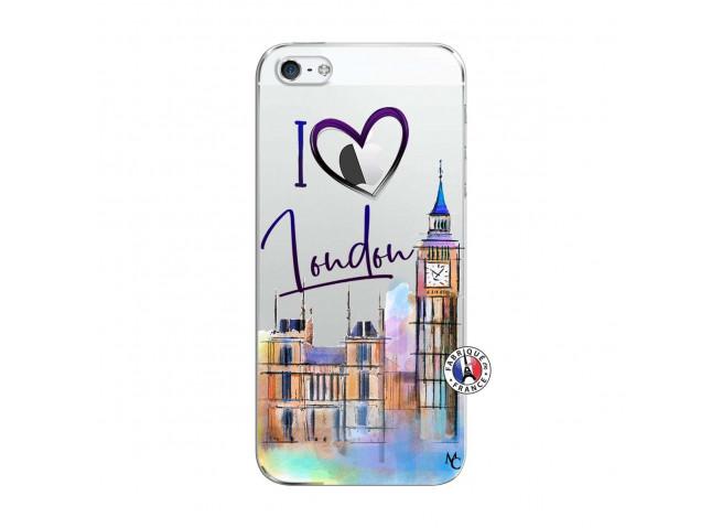 Coque iPhone 5C I Love London