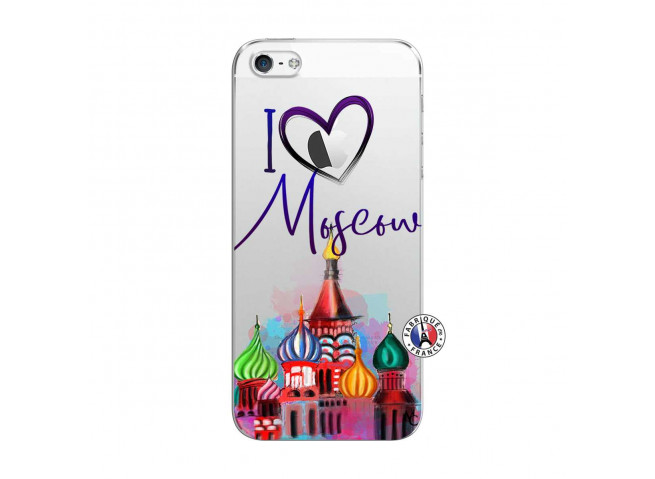 Coque iPhone 5C I Love Moscow