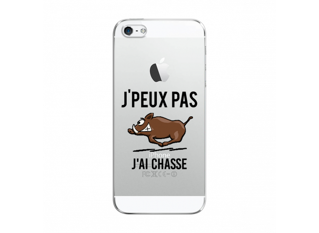 Coque iPhone 5C J Ai Chasse