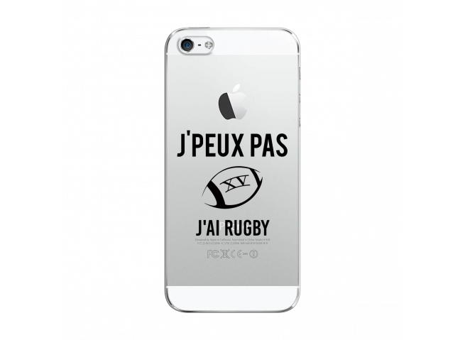 Coque iPhone 5C J Ai Rugby