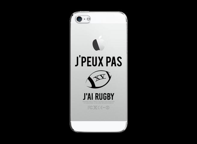 Coque iPhone 5C J Ai Rugby