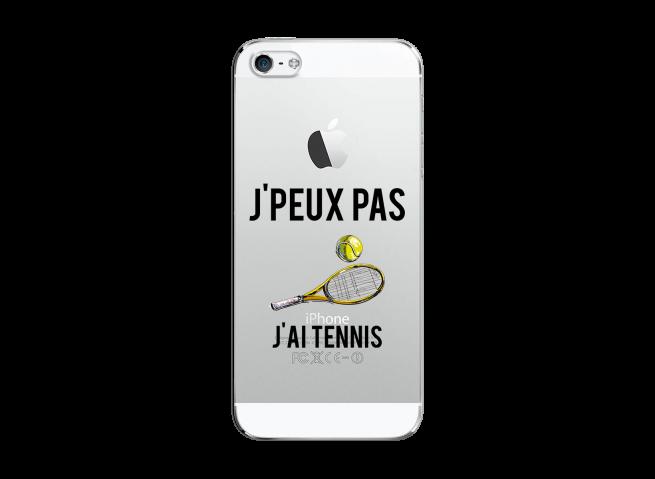 Coque iPhone 5C J Ai Tennis