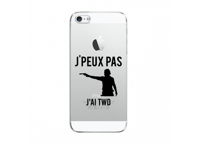 Coque iPhone 5C Jai Twd