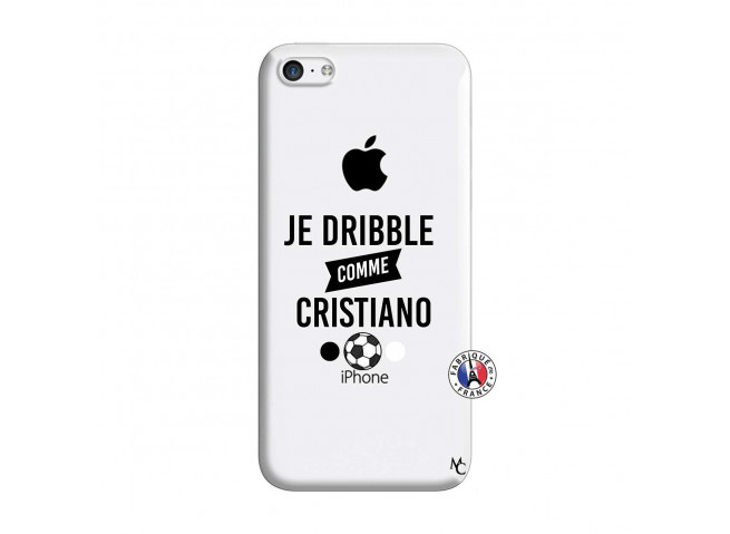 Coque iPhone 5C Je Dribble Comme Cristiano
