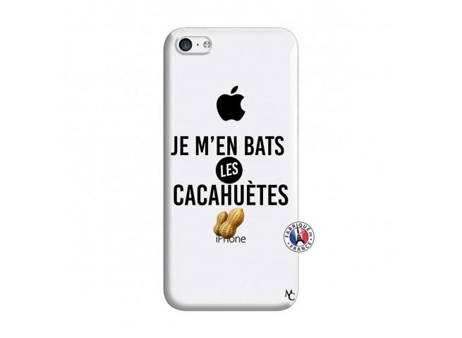 Coque iPhone 5C Je M En Bas Les Cacahuetes