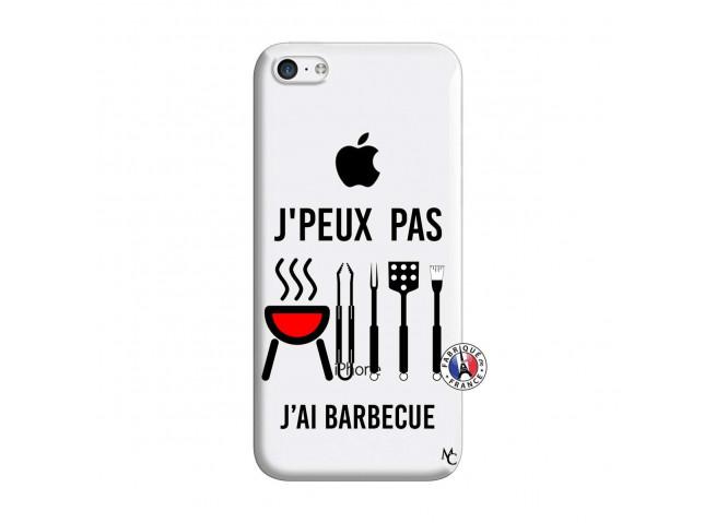 Coque iPhone 5C Je Peux Pas J Ai Barbecue