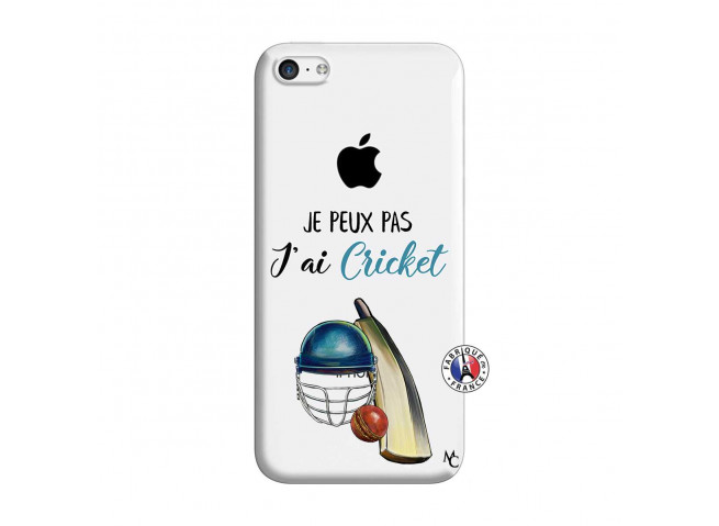 Coque iPhone 5C Je peux pas j'ai cricket