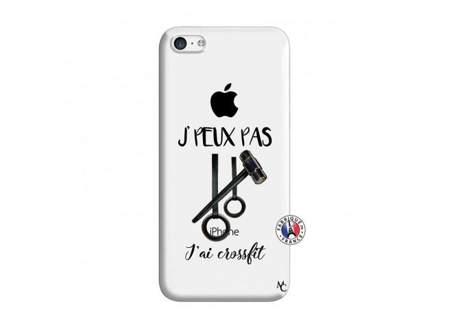 Coque iPhone 5C Je peux pas j'ai crossfit