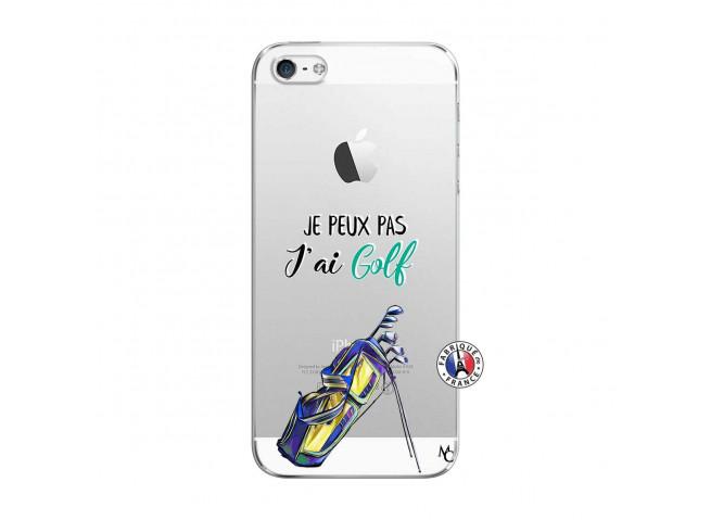 Coque iPhone 5C Je Peux Pas J Ai Golf