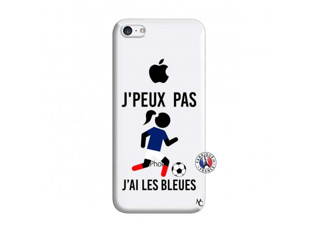Coque iPhone 5C Je Peux Pas J Ai Les Bleues