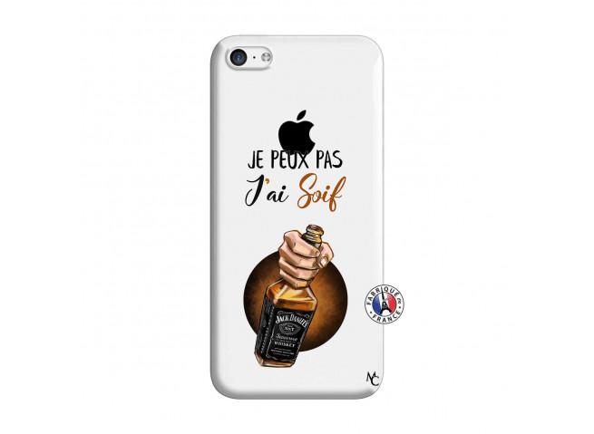 Coque iPhone 5C Je Peux Pas J Ai Soif