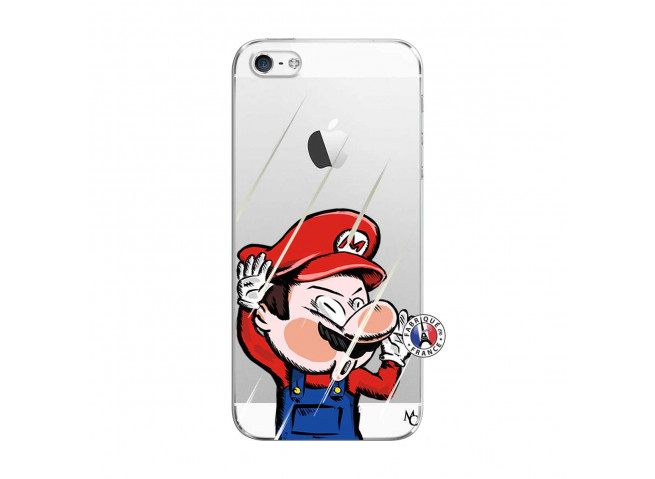 Coque iPhone 5C Mario Impact