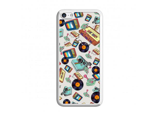 Coque iPhone 5C Mock Up Translu