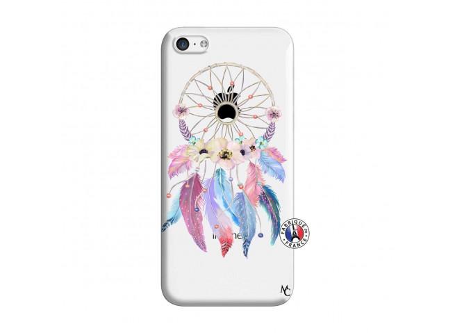Coque iPhone 5C Multicolor Watercolor Floral Dreamcatcher