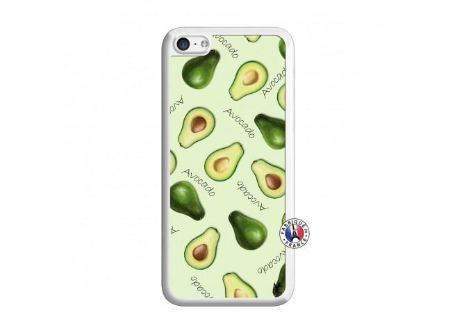 Coque iPhone 5C Sorbet Avocat Translu
