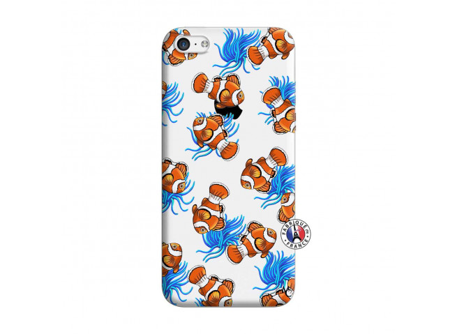 Coque iPhone 5C Poisson Clown