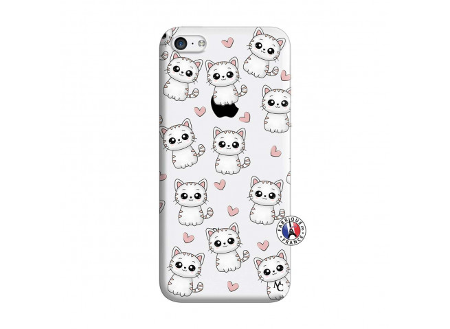 Coque iPhone 5C Petits Chats
