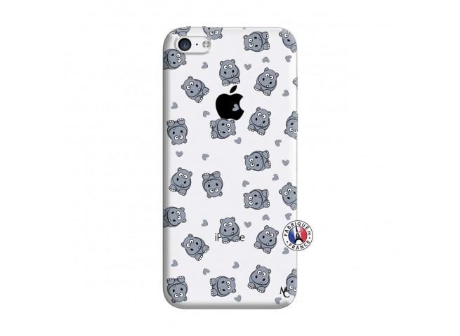 Coque iPhone 5C Petits Hippos
