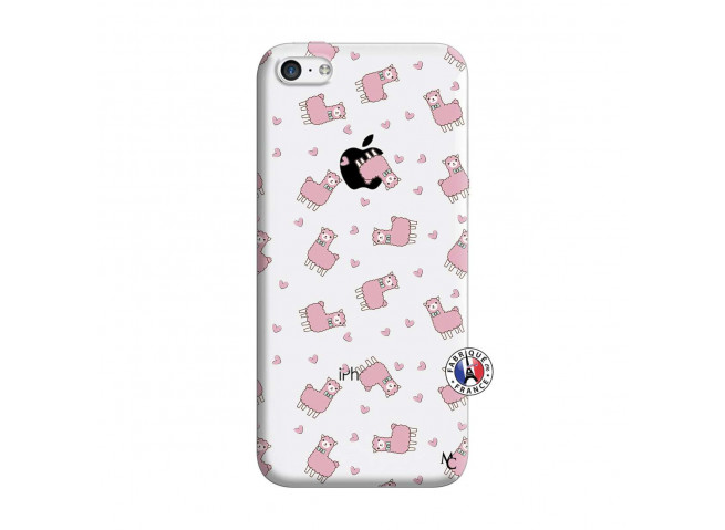 Coque iPhone 5C Petits Moutons