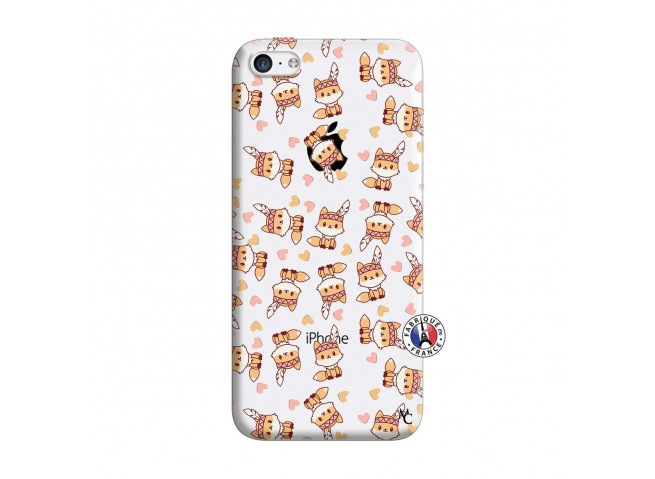 Coque iPhone 5C Petits Renards