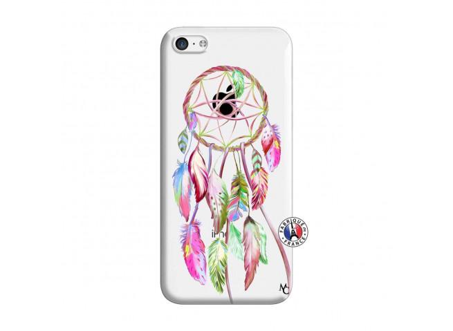 Coque iPhone 5C Pink Painted Dreamcatcher