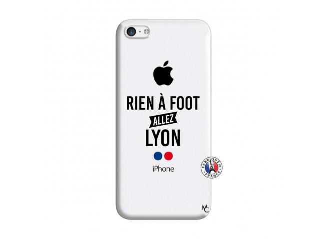 Coque iPhone 5C Rien A Foot Allez Lyon