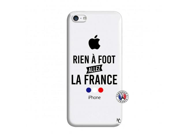 Coque iPhone 5C Rien A Foot Allez La France