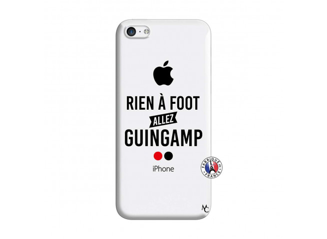 Coque iPhone 5C Rien A Foot Allez Guingamp