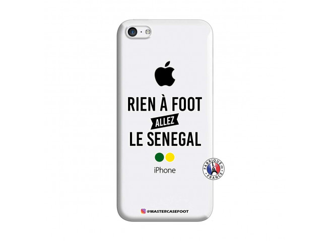 Coque iPhone 5C Rien A Foot Allez Le Senegal