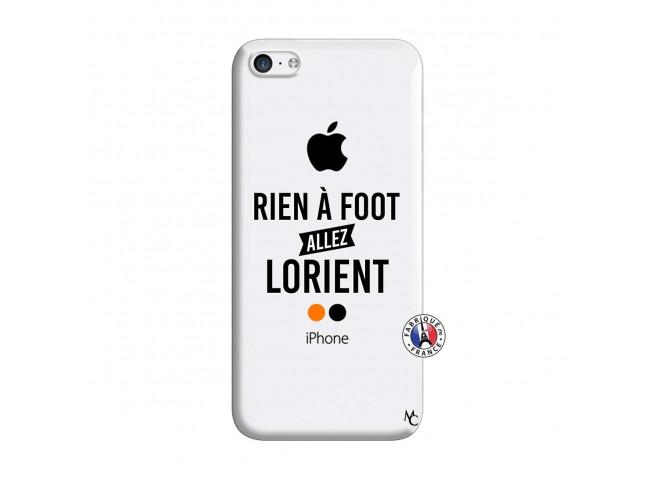 Coque iPhone 5C Rien A Foot Allez Lorient