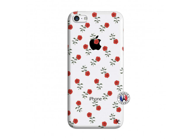 Coque iPhone 5C Rose Pattern