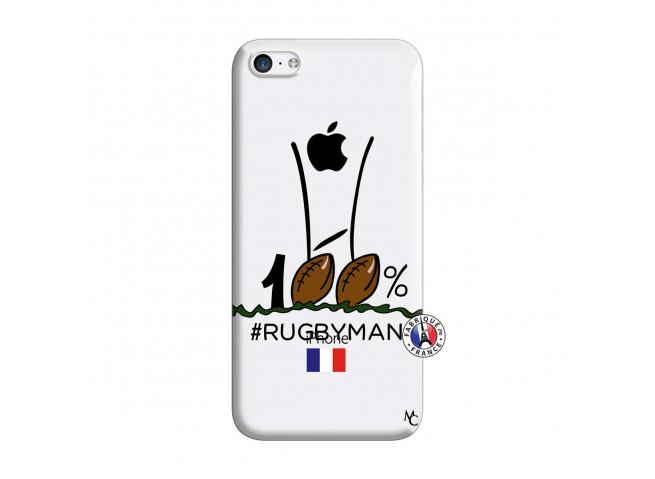 Coque iPhone 5C 100 % Rugbyman Entre les Poteaux