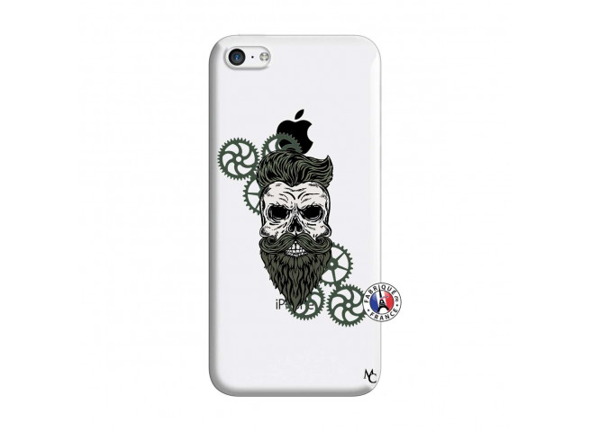Coque iPhone 5C Skull Hipster