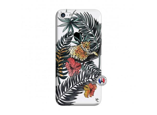 Coque iPhone 5C Leopard Tree