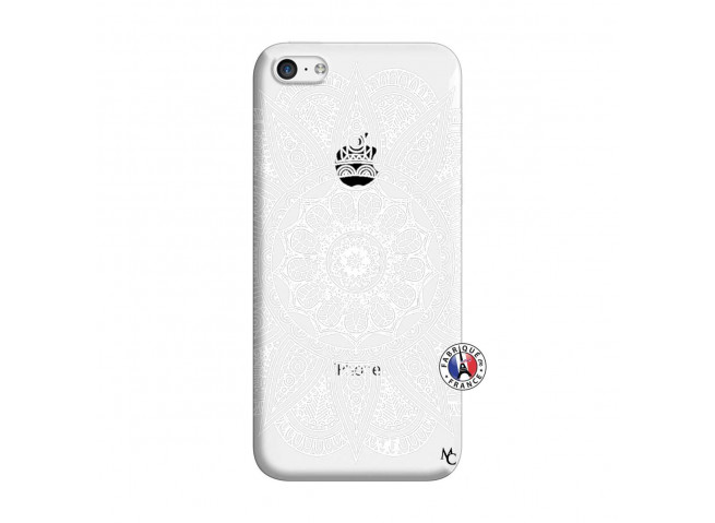 Coque iPhone 5C White Mandala