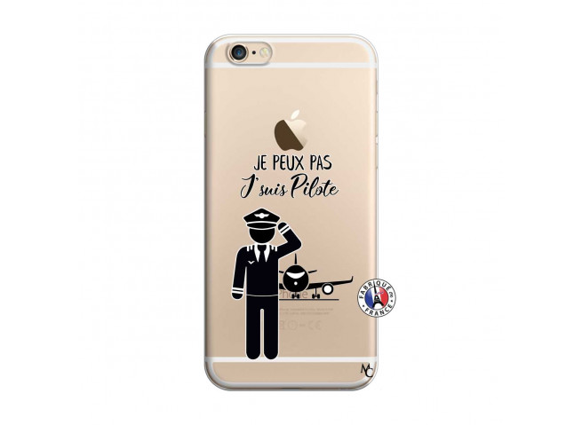 Coque iPhone 6 Plus/6s Plus Je peux pas j'suis pilote