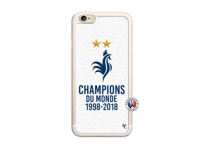 Coque iPhone 6 Plus/6s Plus Champion Du Monde Translu