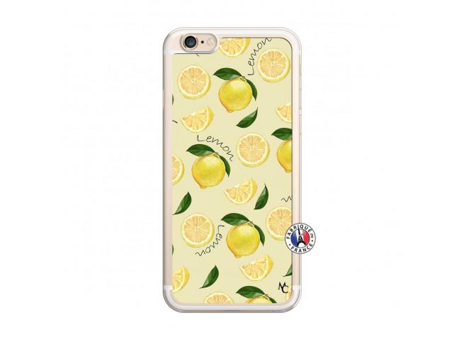Coque iPhone 6 Plus/6s Plus Sorbet Citron Translu