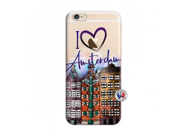 Coque iPhone 6 Plus/6s Plus I Love Amsterdam