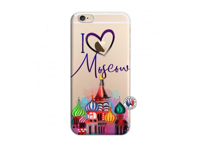 Coque iPhone 6 Plus/6s Plus I Love Moscow