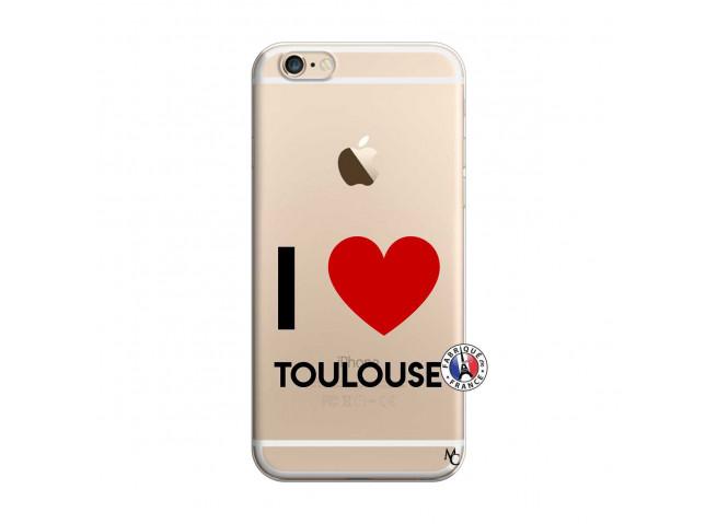 Coque iPhone 6 Plus/6s Plus I Love Toulouse