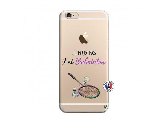 Coque iPhone 6 Plus/6s Plus Je Peux Pas J Ai Badminton