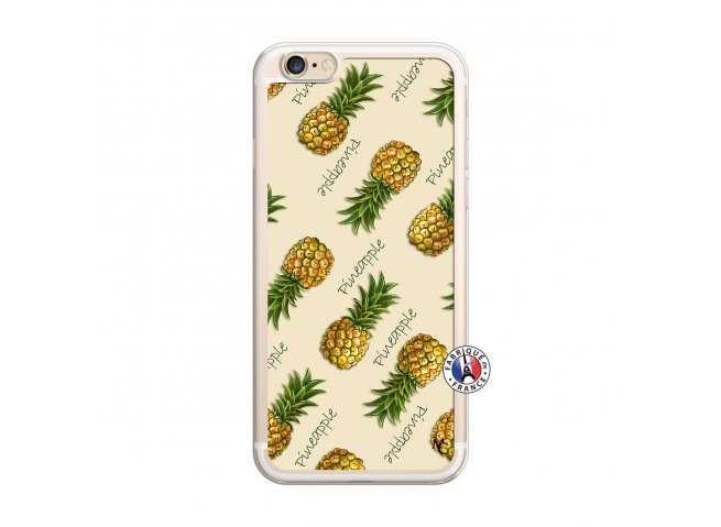 Coque iPhone 6 Plus/6s Plus Sorbet Ananas Translu